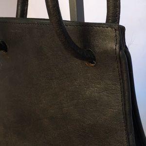Handbags - Vintage/Boho Leather Saddle Bag.